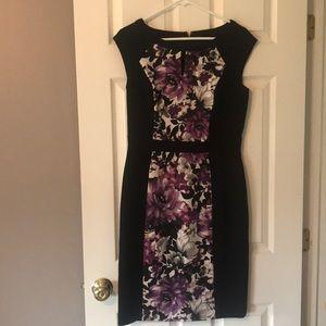 White House Black Market size 8 sheath dress